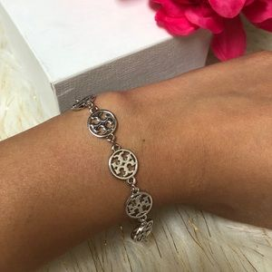 Tory Burch silver bracelet